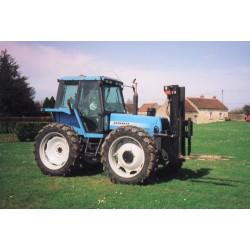 Mat sur tracteur